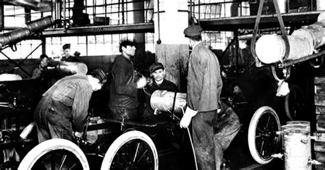The Assembly Line Henry Ford Essay by Henry Ford S Assembly Line How It S Still Rolling Along 100 Years Later Cbs News