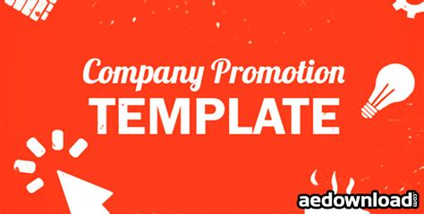 Company Promo Pack After Effects Project Videohive Free After Effects Template Videohive Band Promo Pack Template