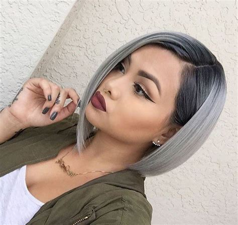 Hairstyles Using Hair Style Kit by Beautiful Silver Ombre Hairstyles For Hair