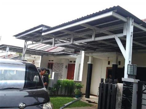contoh desain atap rumah baja ringan cara memilih baja ringan terbaik untuk kanopi dan atap