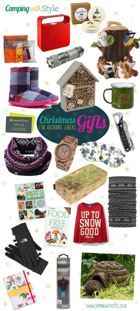 christmas treats for outdoors nature lovers 2015