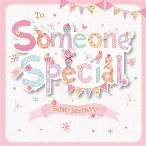 Birthday Card For A Special Person To Someone Special Birthday Card Greeting Cards B M