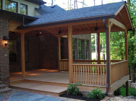Wooden Porch olde world woodworks