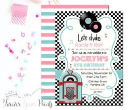 1950s invitations cimvitation