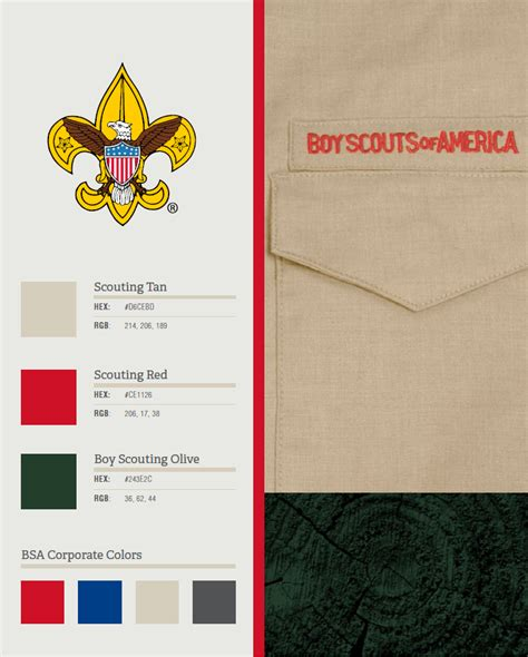 scout colors digital color palettes scouting wire scouting wire