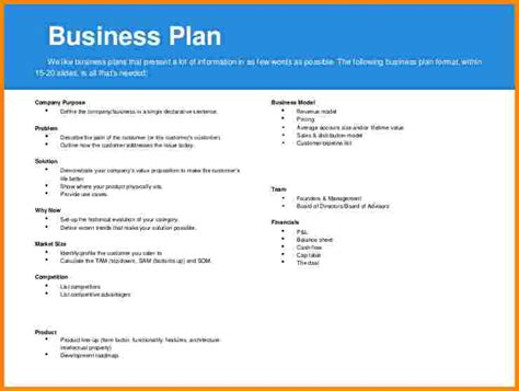 business plan for business template 9 business plan layout weekly agenda planner