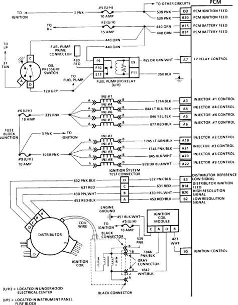 94 camaro lt1 distributor wiring diagram get free image