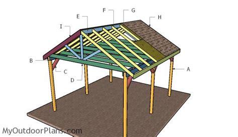 outdoor shelter plans 12x14 outdoor shelter plans myoutdoorplans free