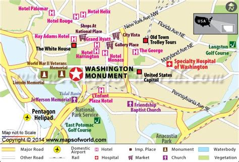 map of dc monuments washington monument us map facts location history hours