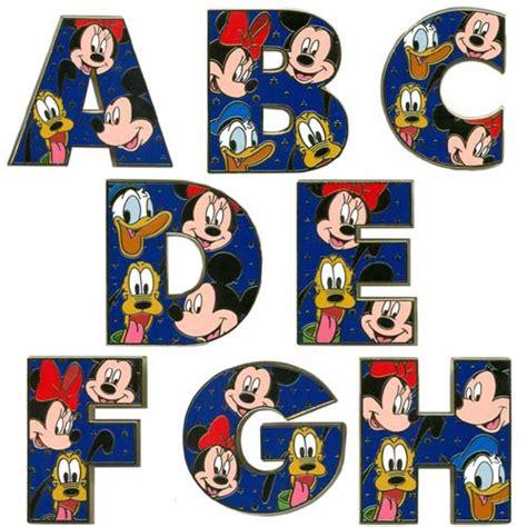 Disney Character Letter Q Your Wdw Store Disney Alphabet Pin A Through Z