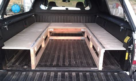 truck bed sleeping platform cer shell ideas