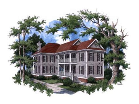 donelson plantation style home plan 024s 0009 house