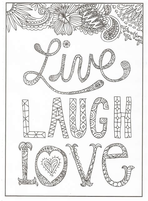 live coloring timeless creations creative quotes coloring page live