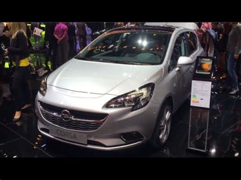 opel corsa interior 2016 opel corsa 2016 in detail review walkaround interior