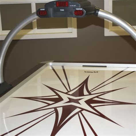 aeromaxx air hockey table aeromaxx monarch hockey table by heritage room