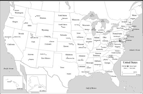 the map of the usa states and capitals unit 1 early america mrs wood s history class