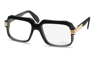 cazal eyeglasses 607 with rx prescription lenses black or