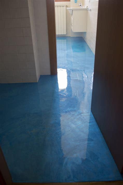 pavimento in resina bagno pavimento bagno in resina