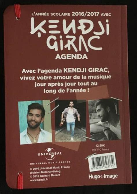 Calendrier Kendji 2016 Agenda Scolaire 2016 2017 Kendji Girac Gt Hugo Image