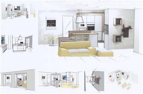 Plan Salon Cuisine Sejour Salle Manger by Superbe Plan Salon Cuisine Sejour Salle Manger 7