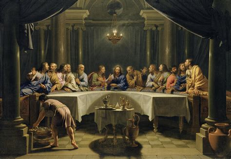 last supper modern art paintings