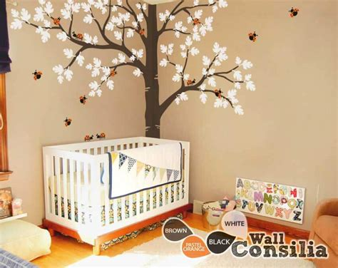 Baby nursery Large Oak Tree wall decalWallconsilia.com
