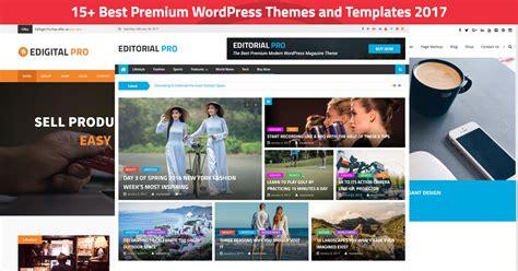 15 Best Premium Wordpress Themes And Templates 2018 Best Theme Templates