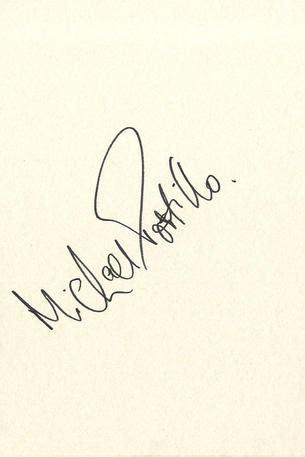 Portillo S Gift Card - michael portillo politics signed cards autograph
