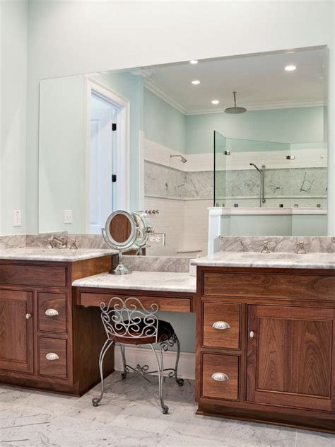 bathroom makeup vanity and sink master bathroom makeup vanity use idea only with one sink