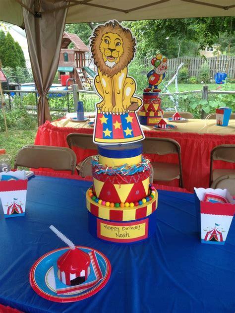 carnival centerpiece theme carnival circus
