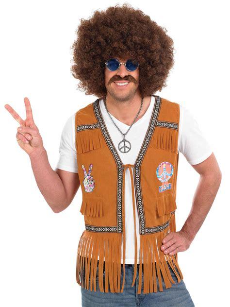60 age men dress adult mens 60 s hippie fringed waistcoat fs3332 fancy