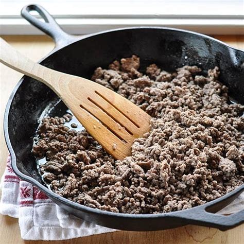 how to cook brown ground beef kitchn