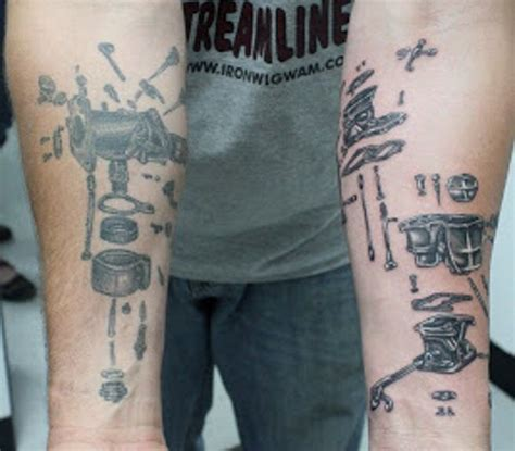 mechanic tattoos 1000 ideas about mechanic on car