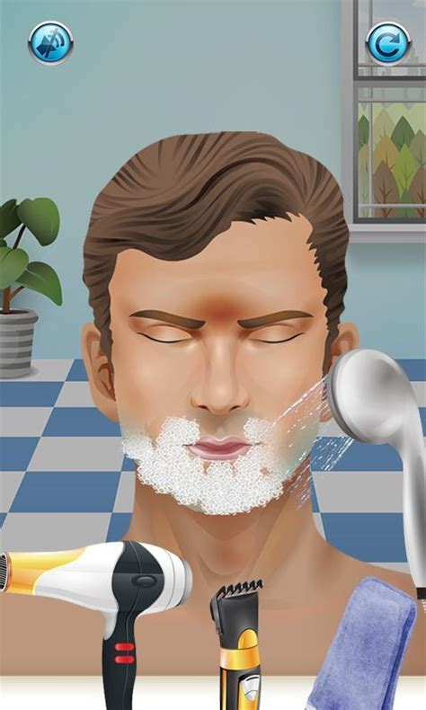 haircut games android beard salon free games android apps on google play