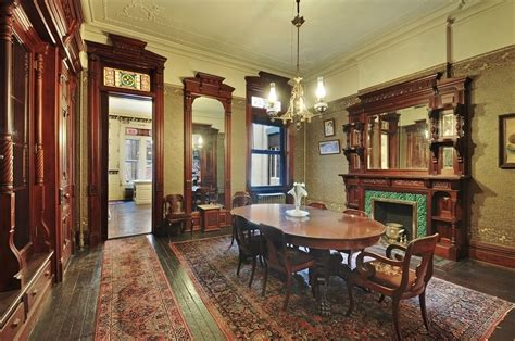 dining room brooklyn historic park slope brownstone on prospect park asks 5