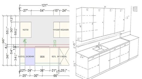 Dimensions Of Kitchen Cabinets Helpful Kitchen Cabinet Dimensions Standard For Daily Use