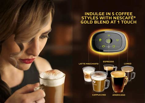 Dispenser Nescafe nescafe gold blend barista machine by nescafe malaysia