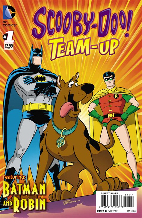 film with cartoon books exclusive preview scooby doo team up 1 starring batman
