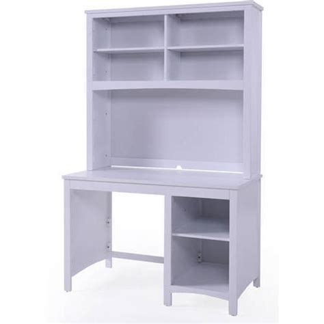 White Student Desk With Hutch Home Styles Naples Student Desk With Hutch White Walmart