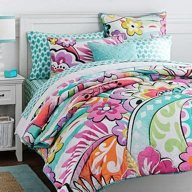 pbteen comforter make curtains large prints and pottery on pinterest