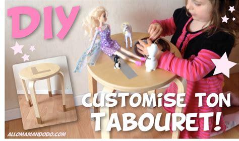 Customiser Un Tabouret by Customise Des Tabourets Tuto Vid 233 O Diy Allo Maman Dodo