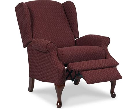 queen ann recliner hton high leg recliner recliners lane furniture