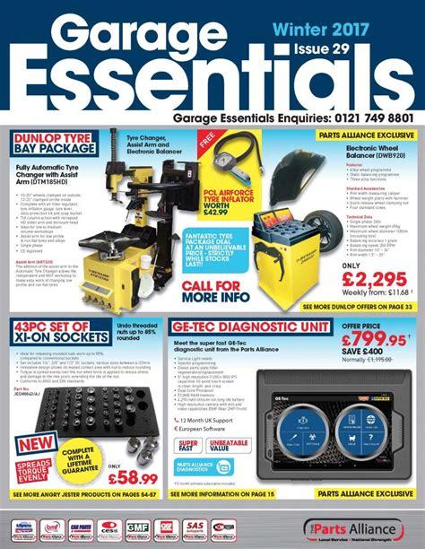 Garage Essentials by Winter 2017 Garage Essentials Bromsgrove Motor Factors