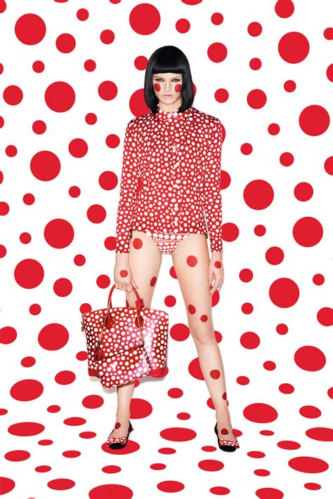 Louis Vuitton Summer Collection Polka Dots Fleurs The Bag by Neonscope Louis Vuitton In The Polka Dots Of Yayoi Kusama