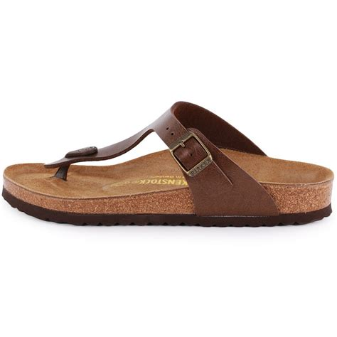 unisex sandals birkenstock gizeh birko flor regular fit unisex sandals in