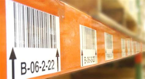 Rack Labels by Order Sequential Bar Codes