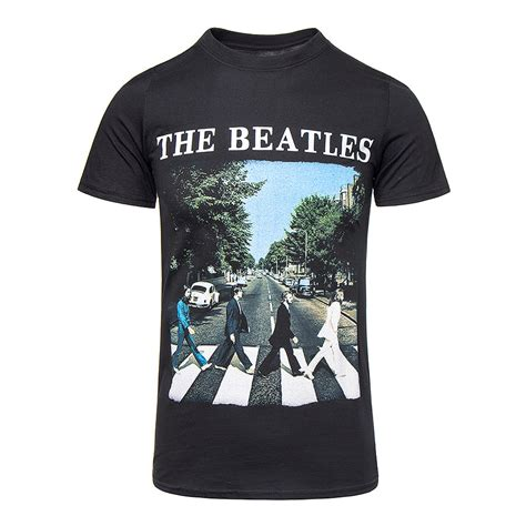 T Shirt Beatles2 official t shirt the beatles black road band all