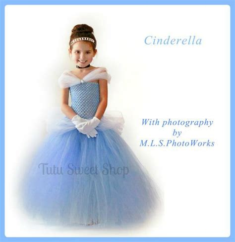 Handmade Cinderella Dress - princess crown cinderella birthday tutu