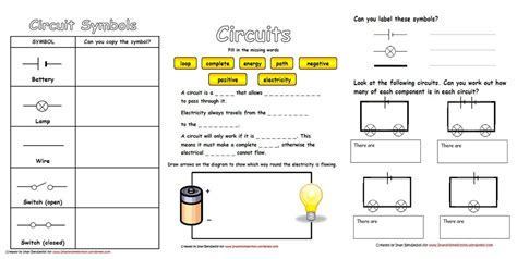 electric circuits worksheets diagrams 301 moved permanently