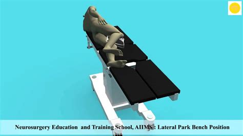 lateral park bench position youtube
